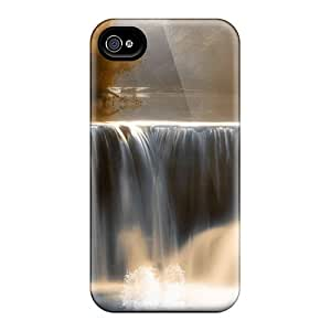 New Arrival Case Specially Design For Iphone 4/4s (peaceful Waterfall)