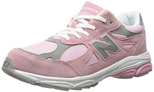 New Balance , Mädchen Laufschuhe Pink with Grey