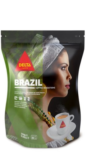 Delta Ground Roasted Coffee from Brazil for Espresso Machines: Amazon.es: Alimentación y bebidas