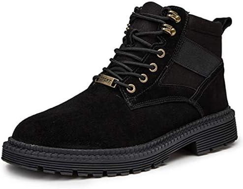 マーティンブーツ メンズ スエード 韓国風 防寒 メンズ靴 マーチンシューズ 作業靴 ショートブーツ 防水ワークブーツ カジュアルシューズ 通勤 スポーツ 滑り止め ファッション 紳士靴 おしゃれ 防滑 厚底