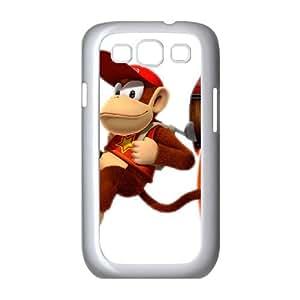 Diddy Kong funda Samsung Galaxy S3 9300 caja funda del teléfono celular del teléfono celular blanco cubierta de la caja funda EEECBCAAB13701