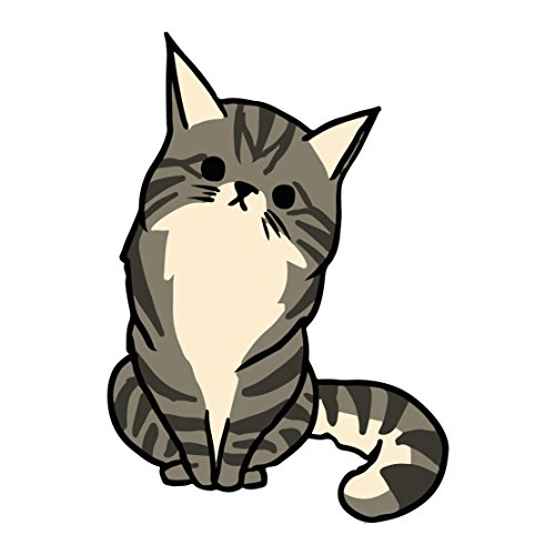 grey-kitty-cat-with-black-stripes-five-inch-tall-full-color-decal-for-indoor-or-outdoor-use-car-truc