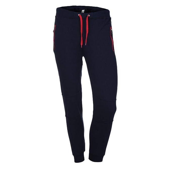 0f41b394ef03a ZODOF Pantalones Casuales Negros de Color a Juego Pantalones de chándal de  Color Puro para Hombre Pantalones de pantalón Casual de Trabajo Deportivo  Casual ...