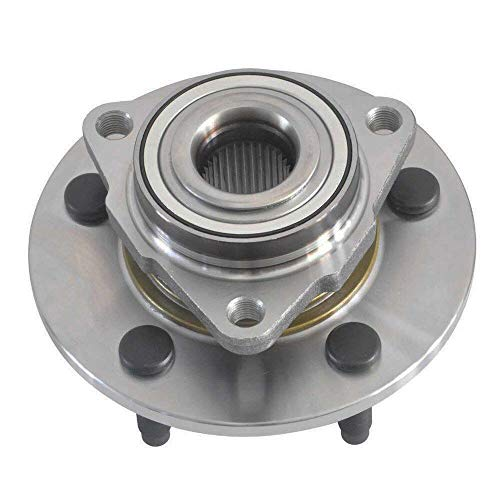CRS NT515072 New Wheel Bearing Hub Assembly, Front Left (Driver)/ Right (Passenger), for 2002-2008 Dodge Ram 1500, 2WD/ 4WD, W/O Wheel ABS