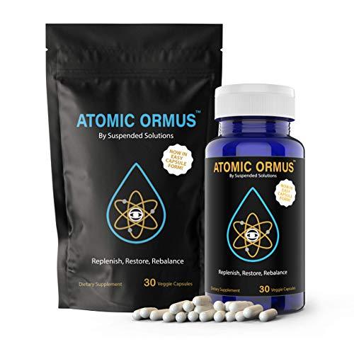 Atomic ORMUS - Capsules - MONATOMIC Gold Capsules - 100% Pure ORMUS Powder - 100% Vegan - ormus Gold, monatomic Gold,(30 Capsules) (White Monatomic Gold Powder)