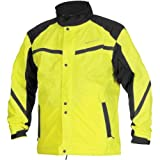 Firstgear Sierra Rain Jacket Day Glo Yellow (Large 51-5639)