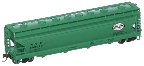 - Bachmann Industries NYC ACF 4-Bay Center-Flow Hopper Car (N Scale), 56'