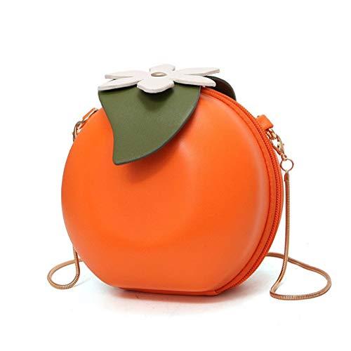 Fashion Bag Hojas Fruite Orange Orange Bags Mini Bags Messenger qSAAnT5