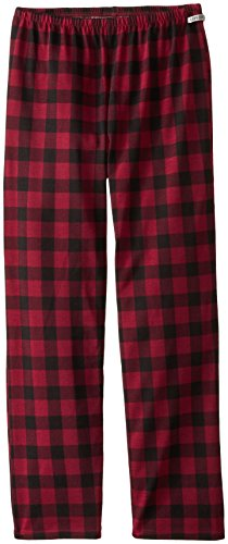 Sleep Girls Good Is Pant Life (Life is good Girl's Plaid Sleep Pant, Wild Cherry, Small)
