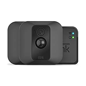 Blink XT Home Security Camera System for Your Smartphone with Motion Detection, Wall Mount, HD Video, 2 Year Battery and Cloud Storage Included - 2 Camera Kit