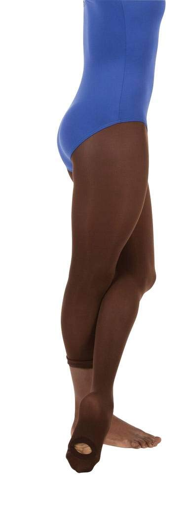 Angelo Luzio Adult Womens Total Stretch Convertible Tights-Espresso-lg/XL by Body Wrappers