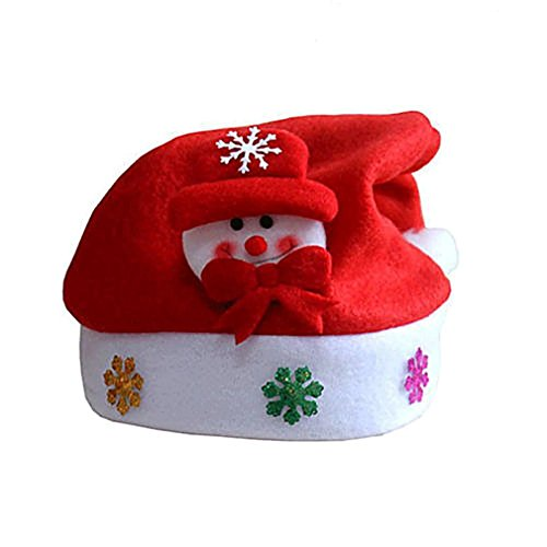MONOMONO-Cute Santa Claus Snowman Elk Christmas Children Baby Hat Christmas Ornament - Mall Anaheim
