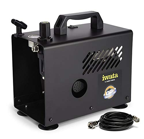 (Iwata-Medea Studio Series Smart Jet Pro Single Piston Air Compressor )