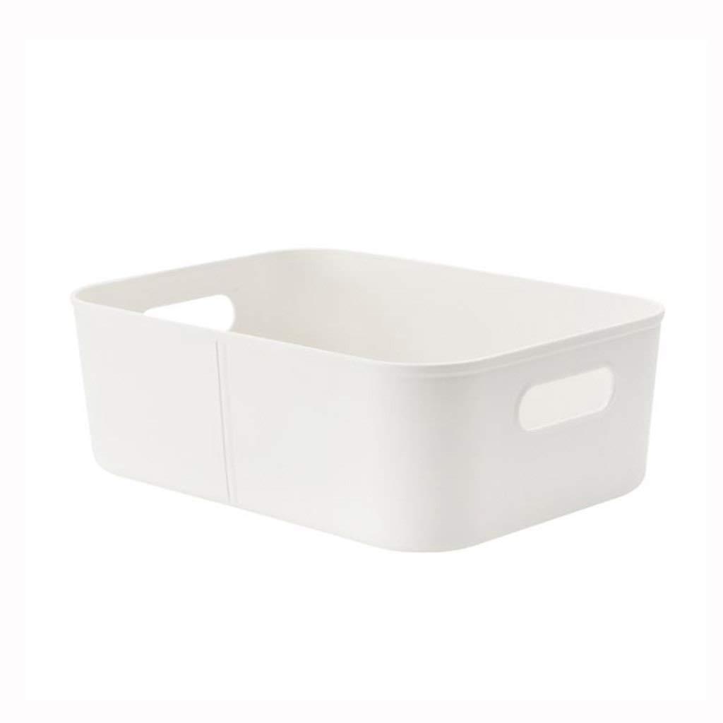 AIWO-PQ Rack Storage Basket PP Uncovered Desktop Debris for Cosmetics/Toiletries/Food Storage