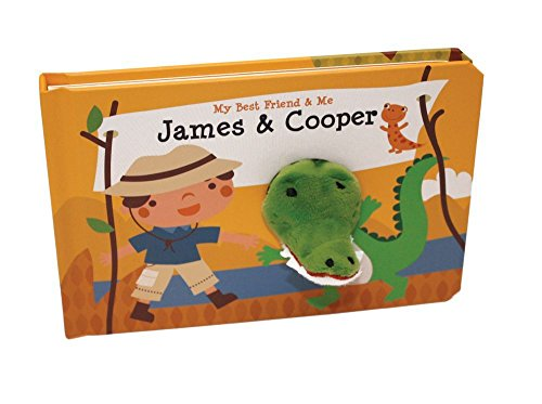 James & Cooper Finger Puppet Book (My Best Friend & Me)