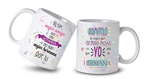 Los Eventos de la Tata Tazas para Hermanas Te Quiero (Herm