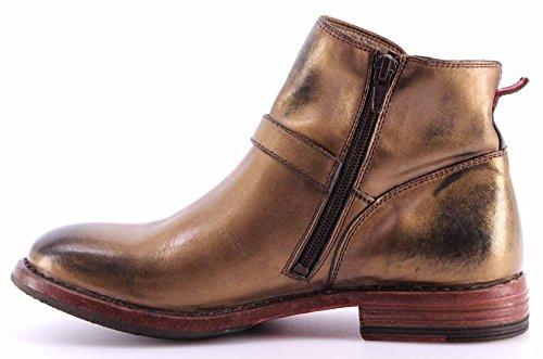 Damen Schuhe MOMA Desert Boots 76504-6E Ghost Bronze Made In Italy Vintage Neu