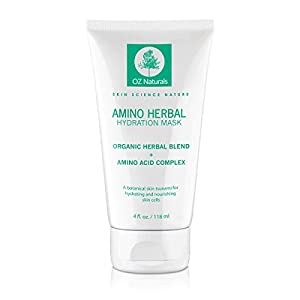 OZ Naturals Facial Mask - The BEST Moisturizing Face Mask Contains Rosehip Oil, Pro Vitamin B5 & Amino Acids - This Anti Aging Face Mask Provides A Hydration Tsunami That Deeply Hydrates & Nourishes Your Skin Cells For That Dewy, Youthful Glow! Results Guaranteed!