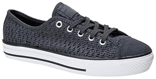 Sneakers Anthracite White Women's Converse Top Low fqxO1ttw78