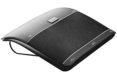 Jabra FREEWAY Bluetooth Speakerphone (Black, Retail Packaging)