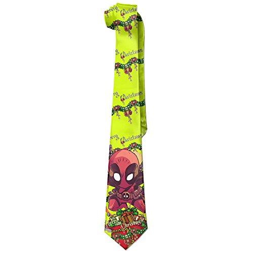 Naci Men New Casual Necktie Christmas Deadpool Silk Wide (Christmas Silk Necktie)