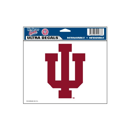 Ultra Decal Ncaa (WinCraft NCAA Indiana Hoosiers Ultra Color Decal, 5