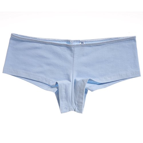 Shortie in BE002 tela Bella Blu elastam Donna cotone xgqIaz4wAO