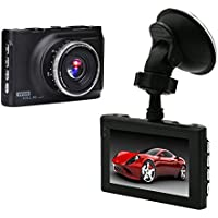 MEIBEI 3 LCD FHD 1080P Car Dash Cam 170 Degree Car DVR Video Recorder with G-sensor, Loop Recording and Motion Detection