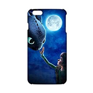 Cool-benz Moon night fish and boy 3D Phone Case for iPhone 6 plus