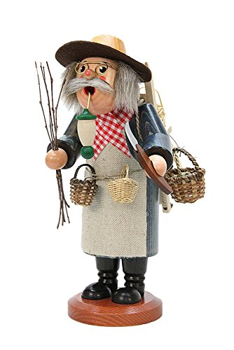 German Incense Smoker Basket craftsman - 28,0 cm / 11 inch - Christian Ulbricht by Authentic German Erzgebirge Handcraft