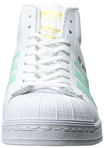 adidas Promodel, Zapatillas Altas para Hombre Ftwwht-Easgrn-Goldmt