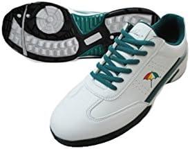 ゴルフシューズ スパイクレス スパイクレスシューズ APS-01H WH 25.5