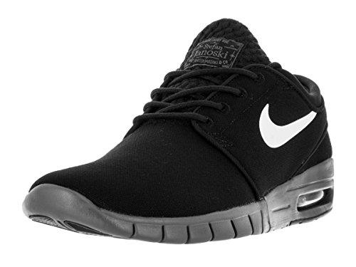7affec090ef191 ... Galleon - Nike Mens Stefan Janoski Max BlackWhiteDark GreySneakers -  8.5 D(M) US ...