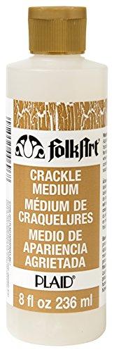 FolkArt Medium (8 Ounce), 696 Crackle (Furniture Folk Art)