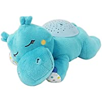 Summer Infant Slumber Buddies Projection and Melodies Soother, Dozing Hippo