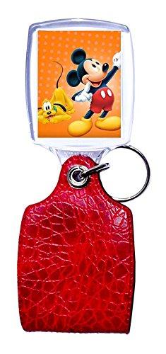 Llavero Rojo Mickey Mouse 4: Amazon.es: Hogar