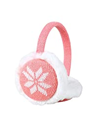 Wool Knitting Ear Muffs For Girls And Children Soft Ear Protectors For Winter