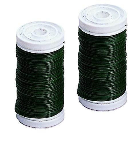 Glorex Binding Wire 0.35mm 100M-Wire, Green, 9.19x 8.69x 3.5cm