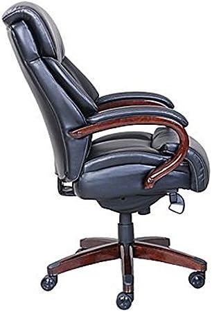 La Z Boy Bradley Faux Leather Executive Chair Black Furniture Decor Amazon Com
