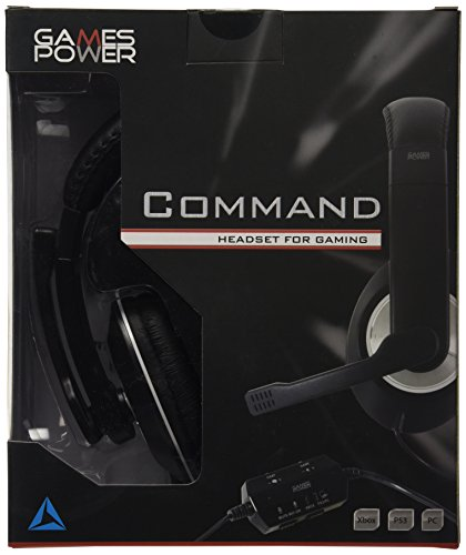 Logic3 GP295 Command Headset for Gaming (Xbox /360/PS3/PC -