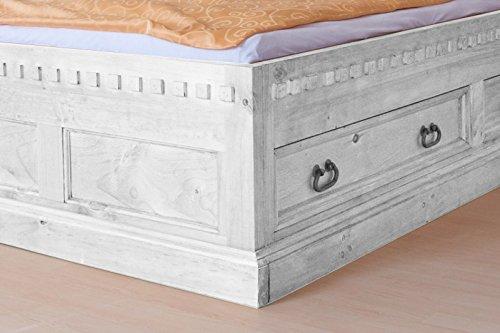Möbelkultura HAC-280 w-v/160 Bett 160 x 200 cm, weiß