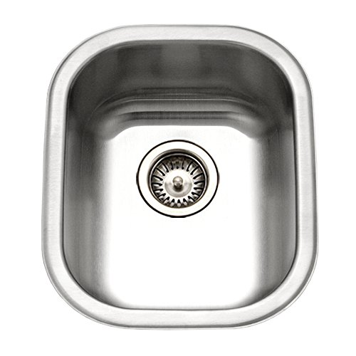 Houzer CS-1607-1 Club Series Undermount Large Bowl Bar Prep Sink