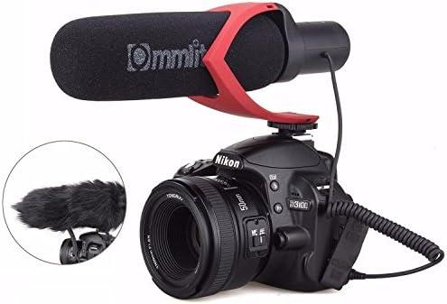 Rode Videomic Go negro-rojo cámara micrófono original