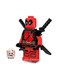 DeadPool Minifigure, Lego compatible Dead Pool with extra BOBEBE Online Baby Store From New York to Miami and Los Angeles