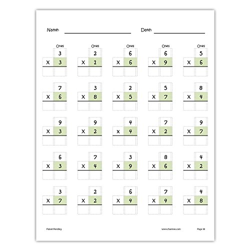 Channie's One Page A Day Single Digit (Beginner) Multiplication Practice Workbook for 2nd-3rd Grades Photo #2