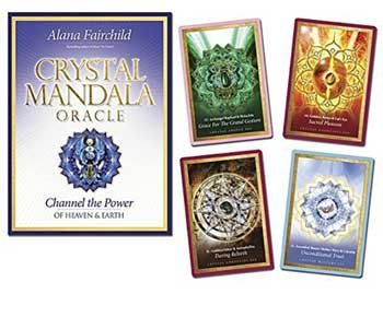 Novelty Toys Tarot Cards Mandala of Crystals Empower Channel Divine Healing Power Heaven Earth
