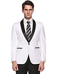 Amazon.com: White - Suits & Sport Coats / Clothing: Clothing ...