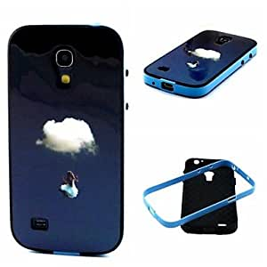 LCJ Clouds Pattern Back Case Cover for Samsung Galaxy S4 Mini I9190