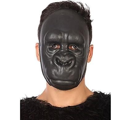 Atosa - Máscara Gorila, Color Negro, única (51478)