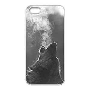 Wolf Unique Fashion Printing Phone Case for Iphone 5,5S,personalized cover case ygtg600542